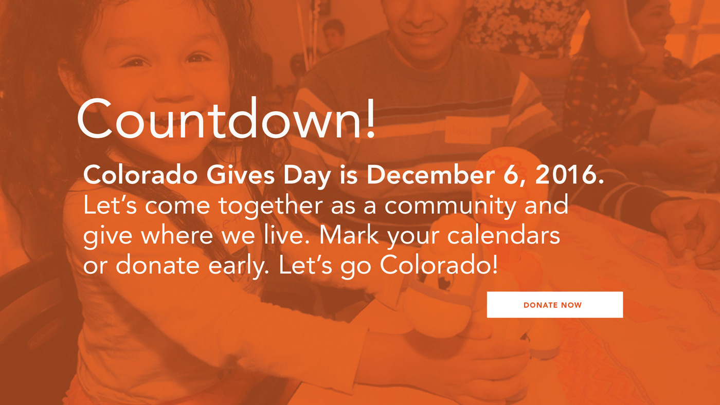 Colorado Gives Day, WeeCycle